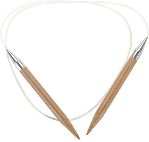 Bamboo Circular Knitting Needles 40in Size 10 6mm