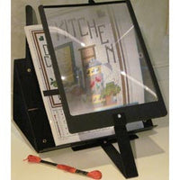 PROP IT Hands Free Page Magnifier And Stand