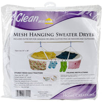 Jumbo Sweater Dryer White 54X28