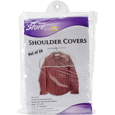 Shoulder Covers Clear 16pk 12X24