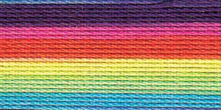 Lizbeth Cordonnet Crochet Thread Rainbow Splash Size 20