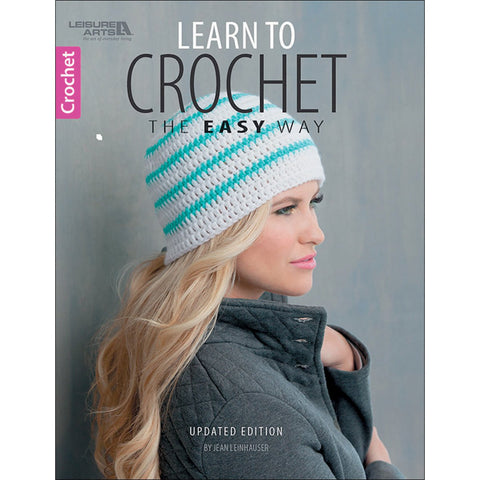 Leisure Arts Learn To Crochet The Easy Way