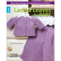 Leisure Arts Knit Lace & Leaves For Baby
