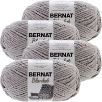 Bernat® Blanket Big Ball Yarn Pale Gray, Multipack Of 4