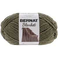 Bernat Blanket Big Ball Yarn Olive, Multipack Of 4