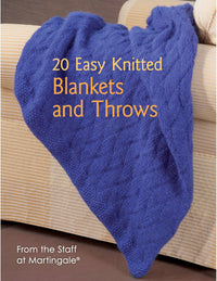 20 Easy Knitted Blankets & Throws