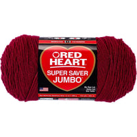 Red Heart Super Saver Yarn Burgundy
