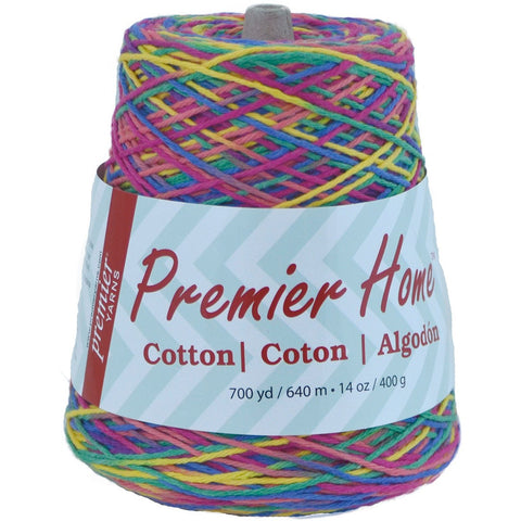 Premier® Home™ Cotton Yarn Multi Cone Rainbow