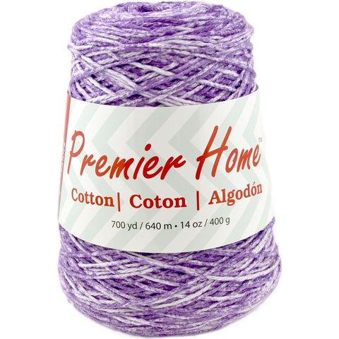 Premier® Home™ Cotton Yarn Multi Cone Violet Splash