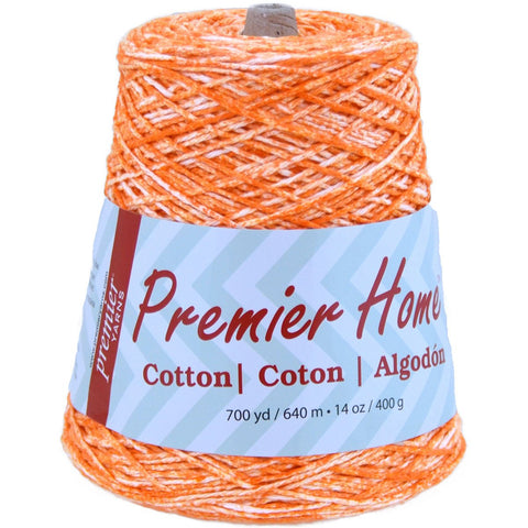 Premier® Home™ Cotton Yarn Multi Cone Tangerine Splash