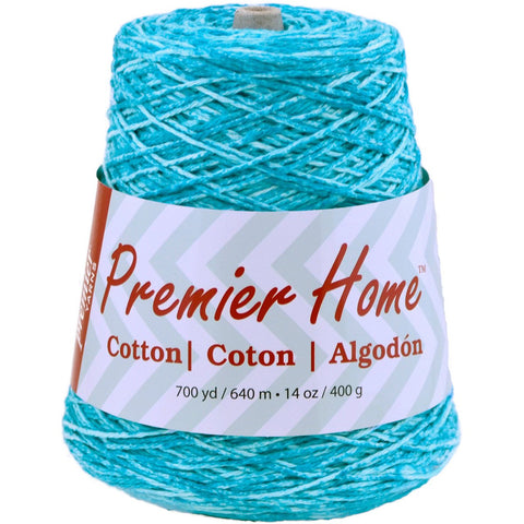 Premier® Home™ Cotton Yarn Multi Cone Ocean Splash