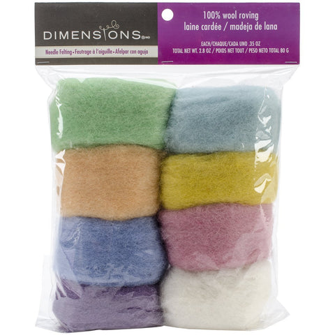 Feltworks Roving Value Pack Pastel 2.8oz