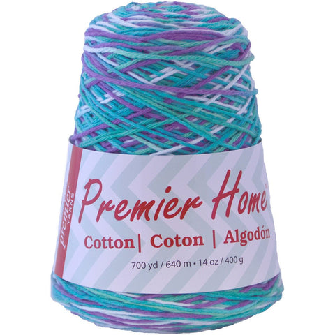 Premier® Home™ Cotton Yarn Multi Cone Water Lillies