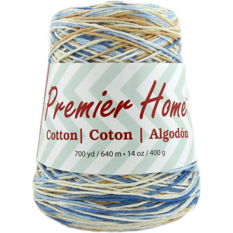 Premier® Home™ Cotton Yarn Multi Cone Rustic Blue