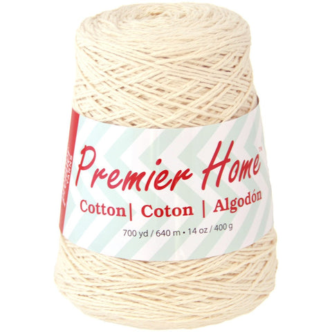 Premier® Home Cotton Yarn Solid Cone Cream