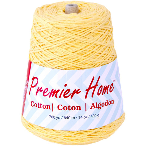 Premier® Home Cotton Yarn Solid Cone Yellow