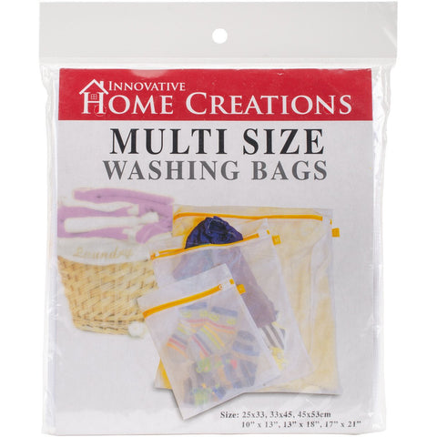 Multi Size Mesh Laundry Bags 3 Sizes