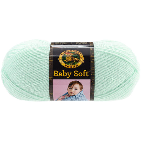 Lion Brand® Baby Soft® Yarn Mint