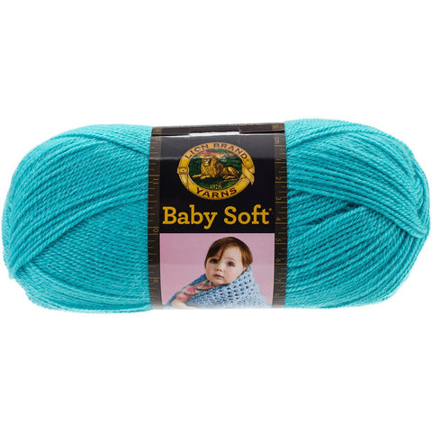 Lion Brand® Baby Soft® Yarn Teal