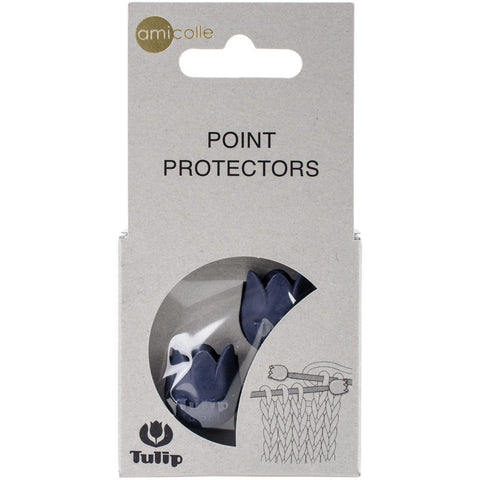 Tulip Point Protectors Navy Large