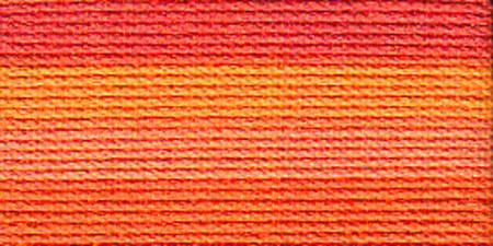 Lizbeth Cordonnet Crochet Thread Orange Crush Size 3