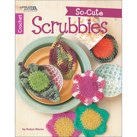 Leisure Arts So-Cute Scrubbies