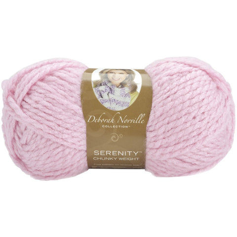 Deborah Norville Collection Serenity Chunky Yarn Lilac Chiffon