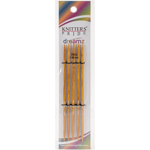 Symfonie Dreamz Double Pointed Needles 5in Size 3 (3.25mm)