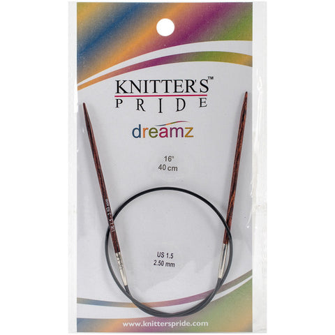 Symfonie Dreamz Fixed Circular Needles 16in Size 1.5 (2.5mm)