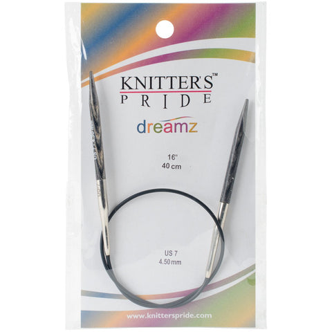 Symfonie Dreamz Fixed Circular Needles 16in Size 7 (4.5mm)
