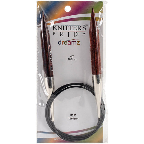Symfonie Dreamz Fixed Circular Needles 40in Size 17 (12mm)