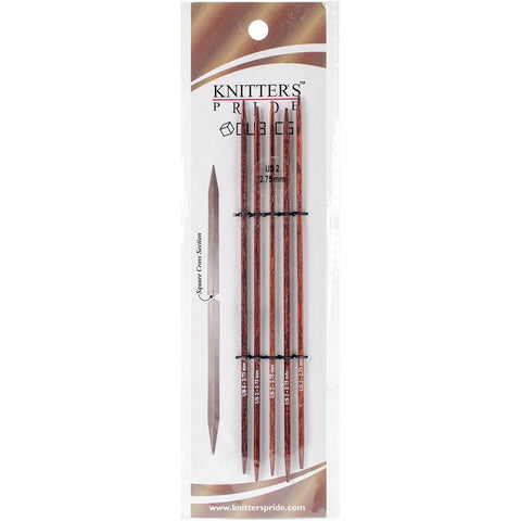 Symfonie Cubics Double Pointed Needles 6in Size 2 (2.75mm)