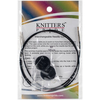 Knitter's Pride Interchangeable Cords 24in Black