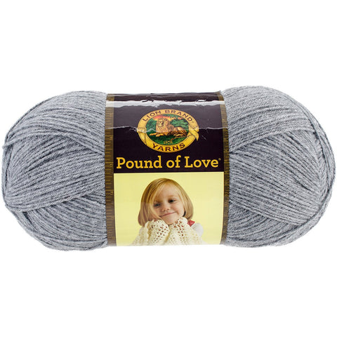 Lion Brand® Pound Of Love® Baby Yarn Oxford Grey