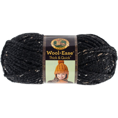 Lion Brand® Wool-Ease® Thick and Quick® Obsidian