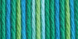 Bernat® Handicrafter® Cotton Yarn Ombres Emerald Energy