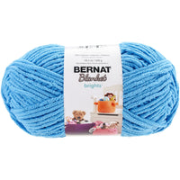 Bernat® Blanket Brights Yarn Busy Blue 10.5oz