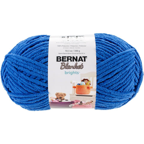 Bernat® Blanket Brights Royal Blue 10.5oz