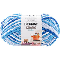 Bernat® Blanket Brights Yarn Waterslide Variegated 10.5oz