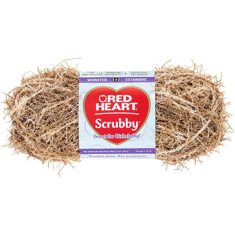Red Heart® Scrubby Yarn Almond