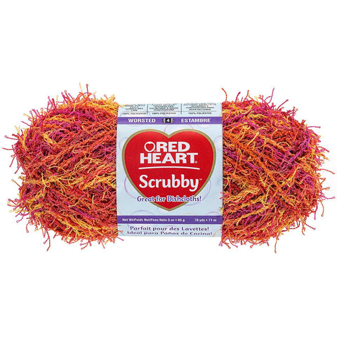 Red Heart® Scrubby Yarn Zesty