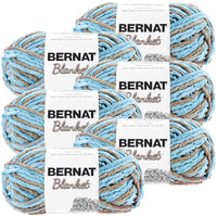 Bernat® Blanket Yarn Coastal Cottage, Multipack Of 6