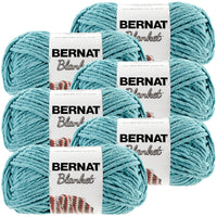 Bernat® Blanket Yarn Light Teal, Multipack Of 6