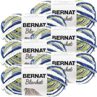 Bernat® Blanket Yarn Oceanside, Multipack Of 6