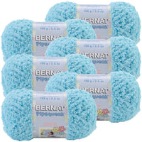 Bernat® Pipsqueak Yarn Blue Ice, Multipack Of 6