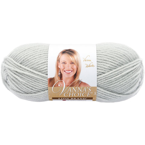 Lion Brand® Vanna's Choice® Yarn Pale Grey, Multipack Of 12