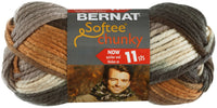 Bernat Softee Chunky Ombre Yarn Stillness, Multipack Of 24