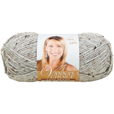 Lion Brand Vanna's Choice Yarn Grey Marble, Multipack Of 6