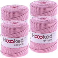 Hoooked Zpagetti Yarn Cherry Blossom, Multipack Of 4