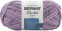 Bernat Blanket Twist Yarn Purple Haze